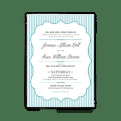 Amber Wedding Invitation - Free Printable Wedding Invitations - Edit with Canva!