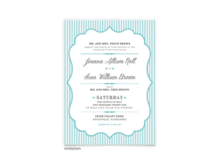 Amber Wedding Invitation - Free Printable Wedding Invitations - Edit with Canva!