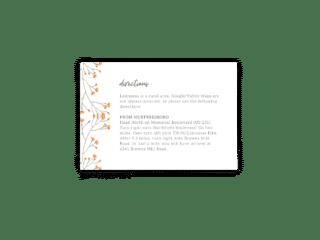 Bryce Wedding Enclosure Card - Free Printable Wedding Invitations - Edit with Canva!