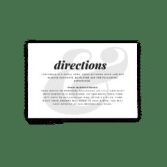 Lily Wedding Enclosure Card - Free Printable Wedding Invitations - Edit with Canva!
