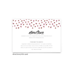 Natalie Enclosure Card - Free Printable Wedding Invitations - Edit with Canva!