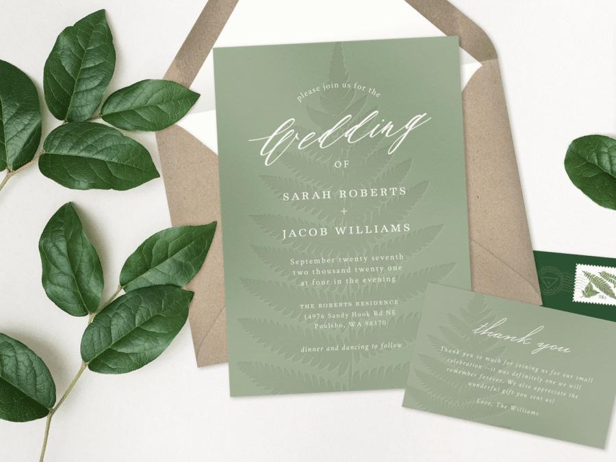 Greenvelope Digital Wedding Invitations