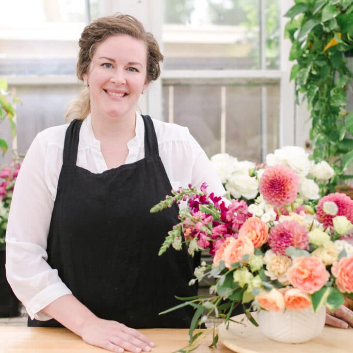 Alison Fleck, owner of Bloom Culture Flowers - Savvy Women-Owned Wedding Businesses