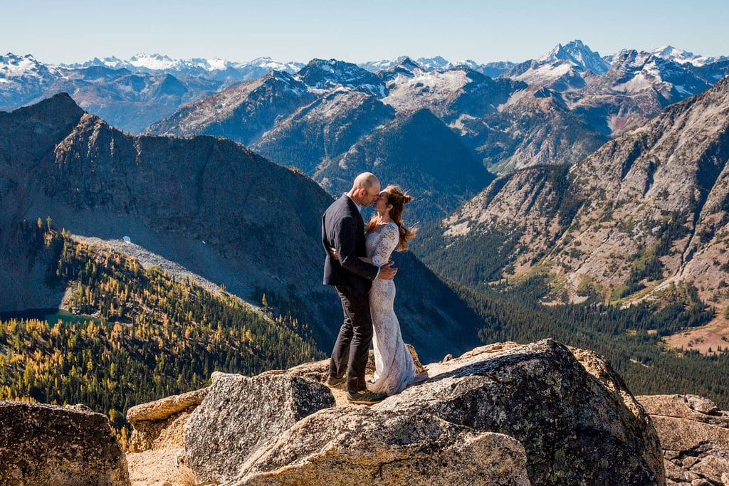 North Cascades Climbing Adventure Elopement by M. Laine Photography