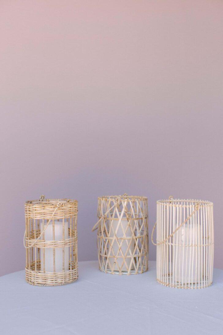 Something Borrowed Blooms Nina Collection - Boho Wedding Style Inspiration - Cane Lanterns