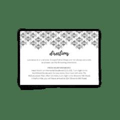 Julie Enclosure Card - Free Printable Wedding Invitations - Edit with Canva!