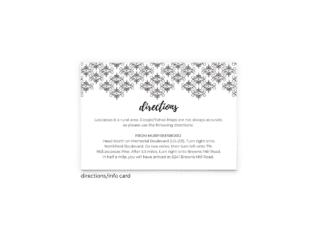 Julie Enclosure Card - Free Printable Wedding Invitations - Edit with Canva!