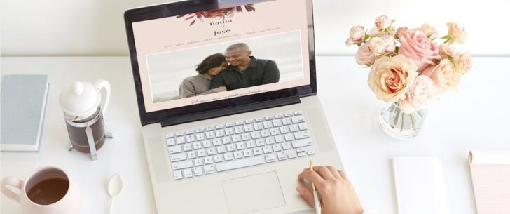 Minted Wedding Website Collection
