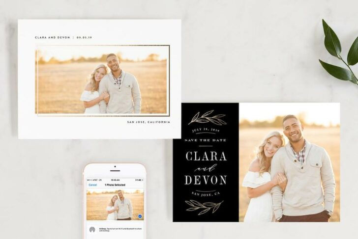 Minted Save the dates, Wedding Websites, and Invitations