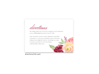 Nickell Enclosure Card - Free Printable Wedding Invitations - Edit with Canva!