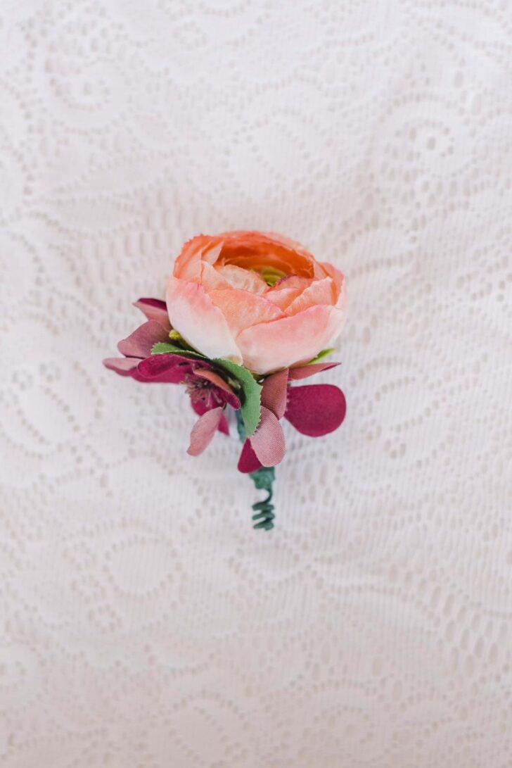 Something Borrowed Blooms Nina Collection - Boho Wedding Style Inspiration - Nina Boutonniere