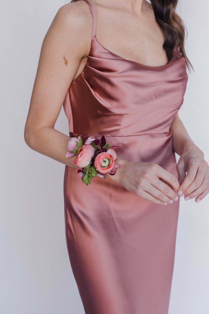 Something Borrowed Blooms Nina Collection - Boho Wedding Style Inspiration - Nina Corsage