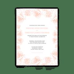 Phoebe Wedding Invitation - Free Printable Wedding Invitations - Edit with Canva!