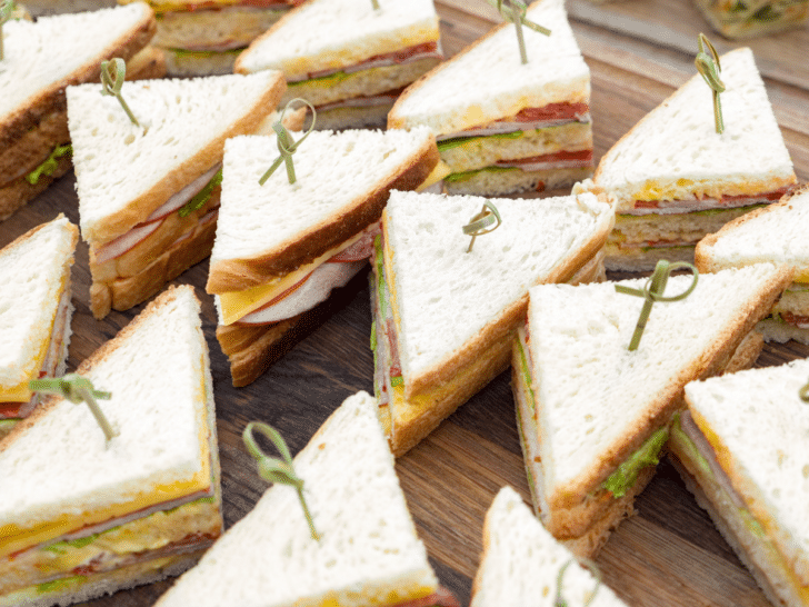 How to Save Money on Wedding Catering - Sandwiches
