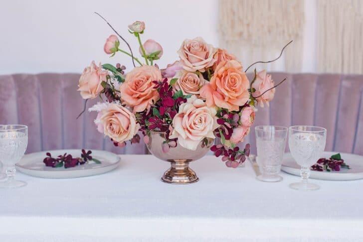 Something Borrowed Blooms Nina Collection - Boho Wedding Style Inspiration - Nina Centerpiece