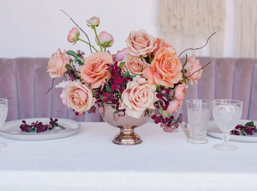Something Borrowed Blooms Nina Collection - Boho Wedding Style Inspiration - Nina Centerpiece