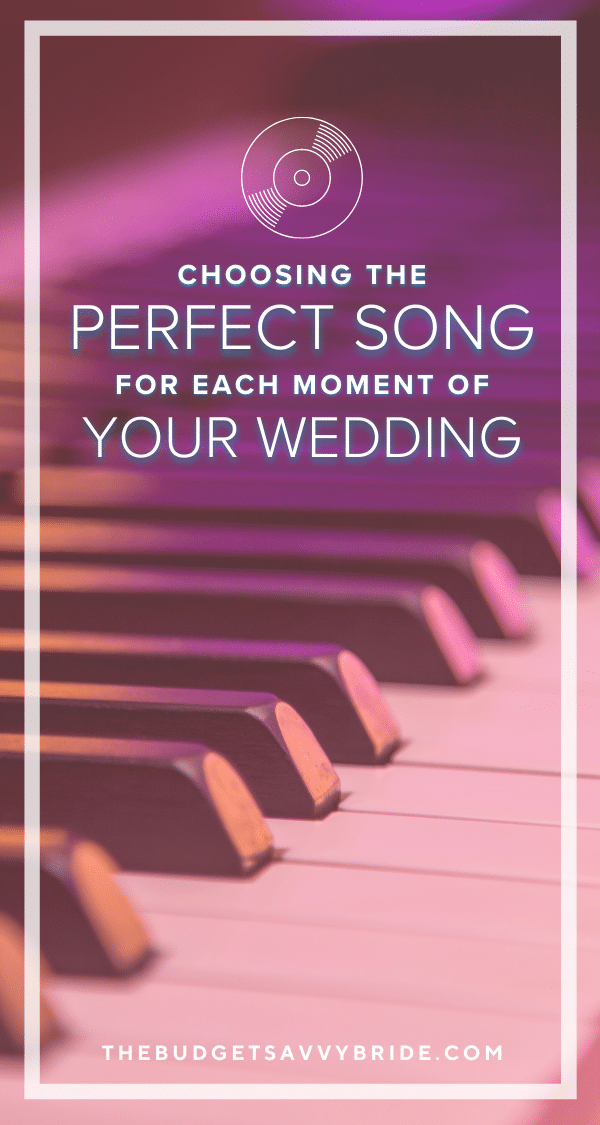 Picking the perfect song for every major moment of your wedding day will make your day more meaningful. Check out these top tips for choosing wedding music for your celebration, sponsored by @MyWeddingSongs!
