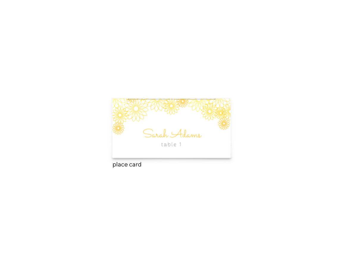 Free Editable Wedding Place Cards • Suzy Collection • The Budget Savvy Bride