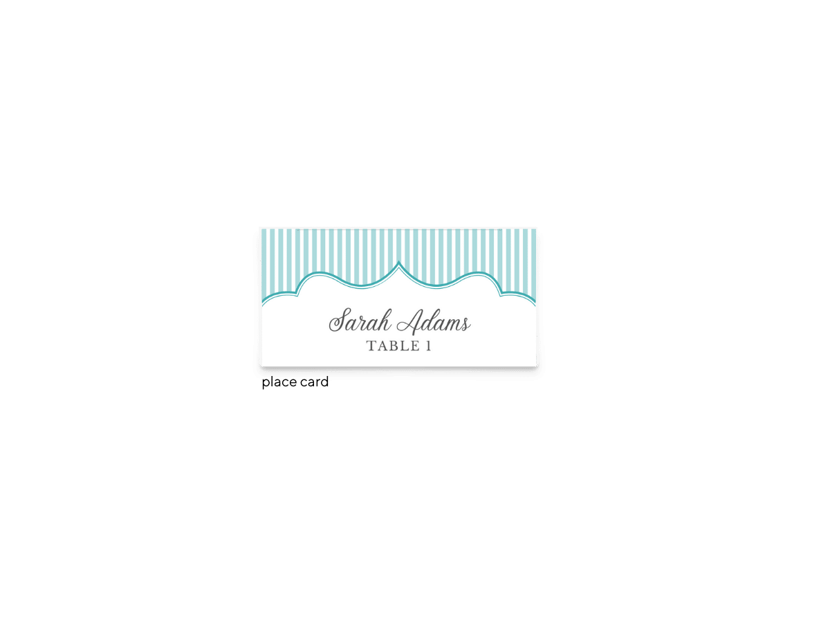 Free Editable Wedding Place Cards • Amber Collection • The Budget Savvy Bride