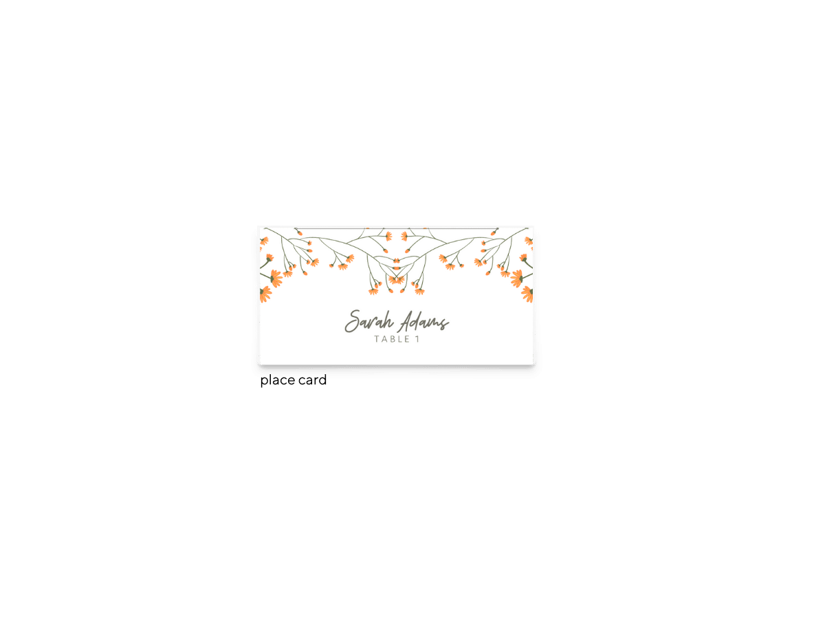 Free Editable Wedding Place Cards • Bryce Collection • The Budget Savvy Bride