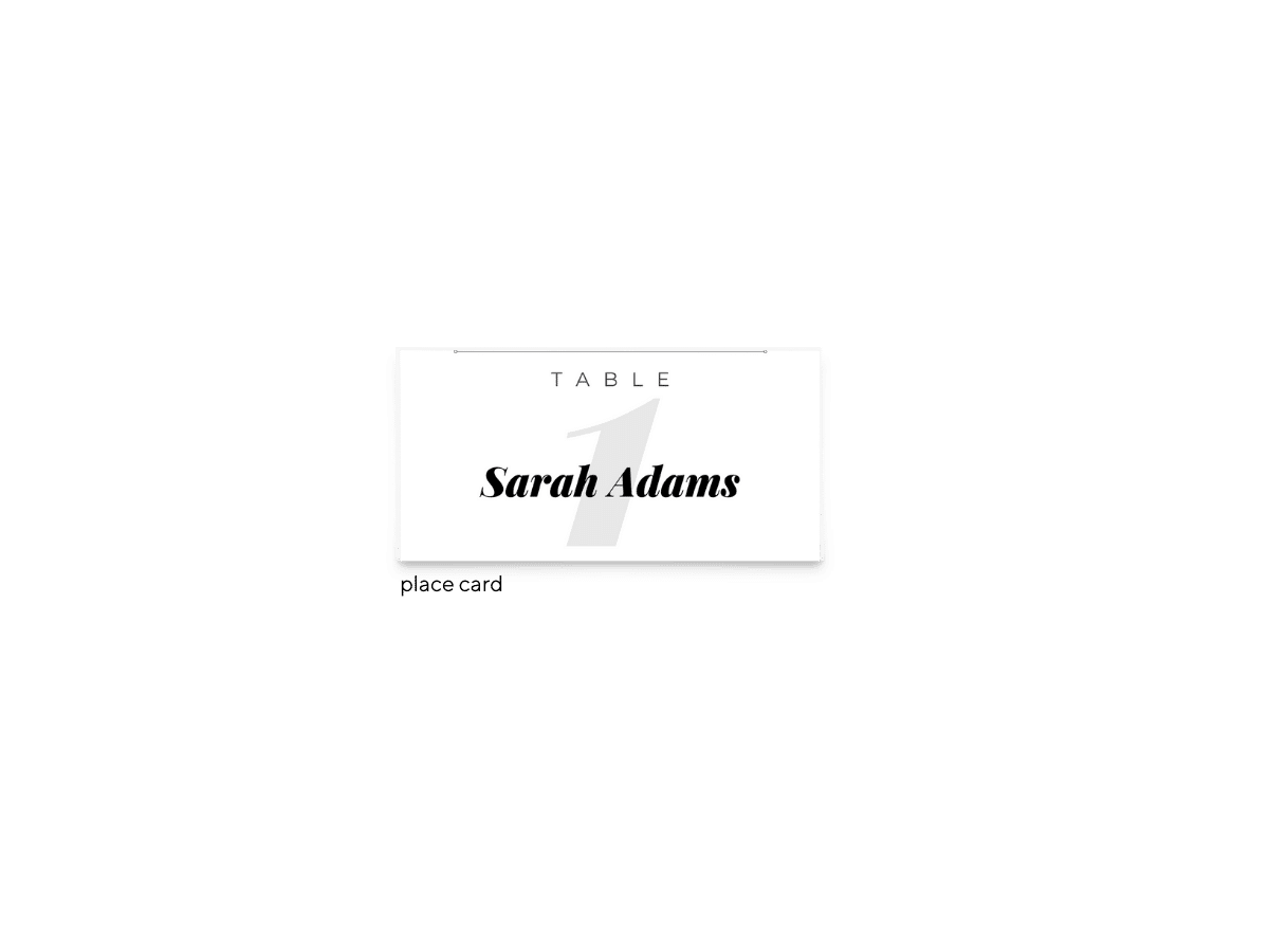 Free Editable Wedding Place Cards • Lily Collection • The Budget Savvy Bride