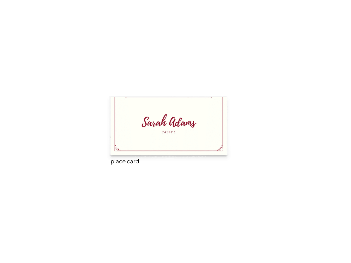 Free Editable Wedding Place Cards • Mallory Collection • The Budget Savvy Bride