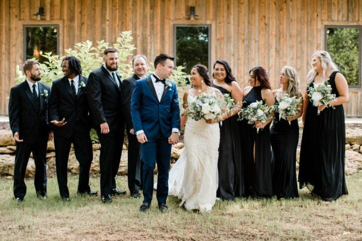 something borrowed blooms - bridesmaids - bridesmaid dresses