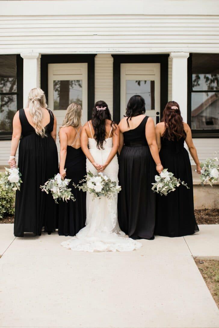 something borrowed blooms - bridesmaids - bridesmaid dresses - wedding party