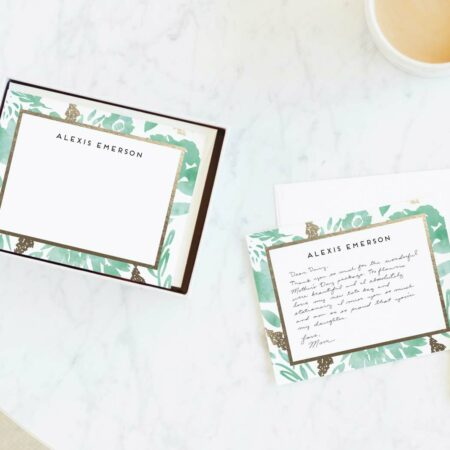 PersonalizedStationery from Minted