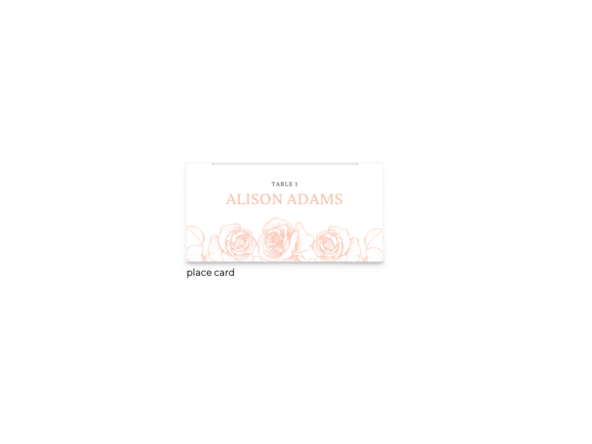 Free Editable Wedding Place Cards • Phoebe Collection • The Budget Savvy Bride