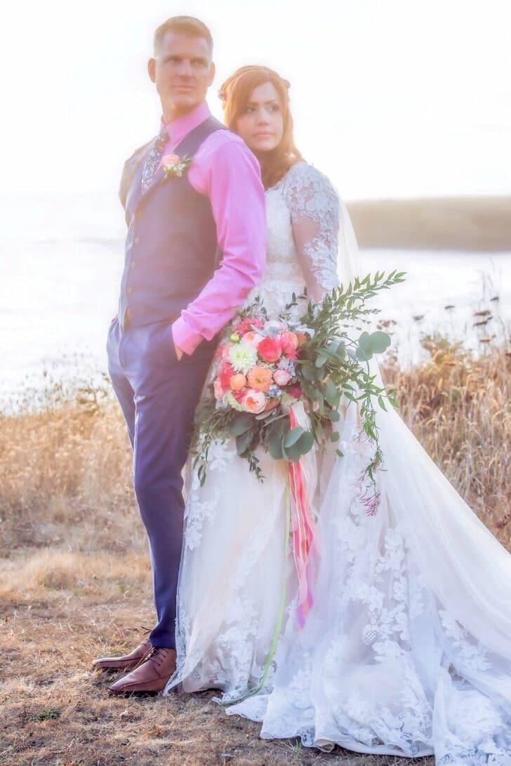 California Bride and Groom