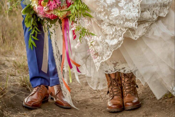 California Bride and Groom - attire choices