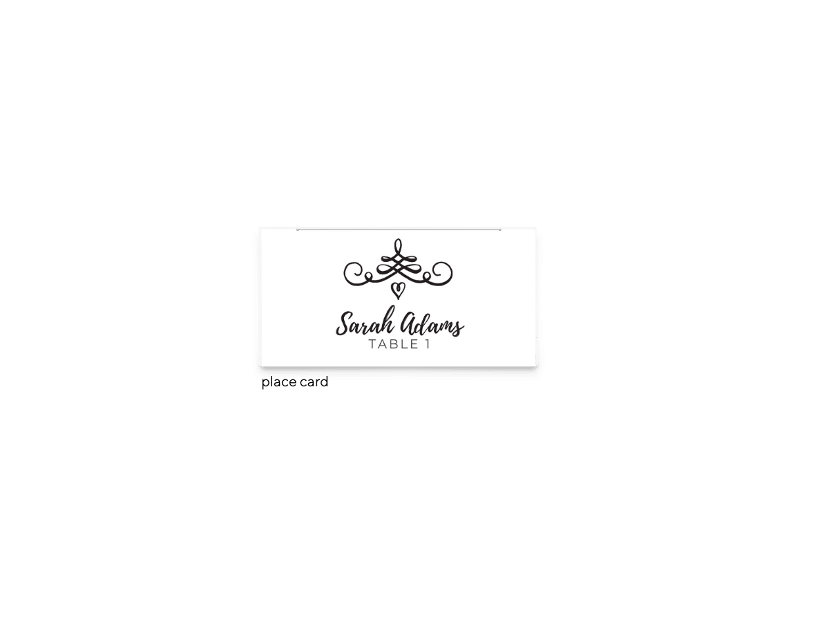 Free Editable Wedding Place Cards • Jennifer Collection • The Budget Savvy Bride