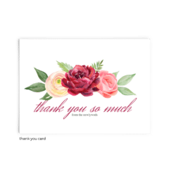 Free Editable Wedding Thank You Cards • Nickell Collection • The Budget Savvy Bride