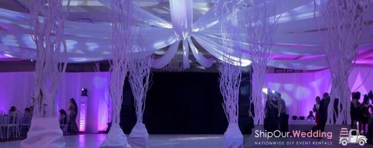 Ship Our Wedding - Nationwide DIY Wedding Rentals!