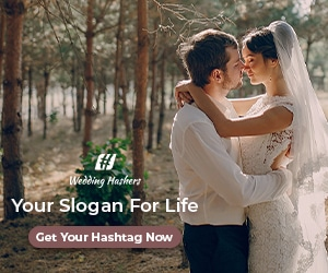 weddinghashers - get your creative wedding hashtags!