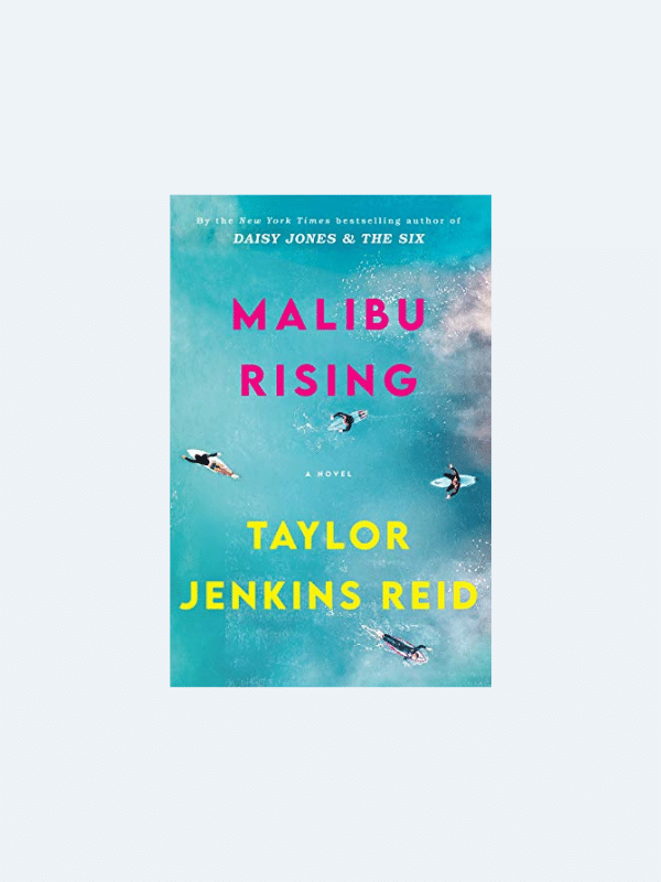 20 Awesome Books for Your Beach Honeymoon  MALIBU RISING by Taylor Jenkins Reid  Beach Reads for Your Honeymoon Getaway | The Budget Savvy Bride