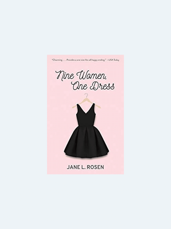 20 Awesome Books for Your Beach Honeymoon  NINE WOMEN, ONE DRESS by Jane L. Rosen  Beach Reads for Your Honeymoon Getaway | The Budget Savvy Bride