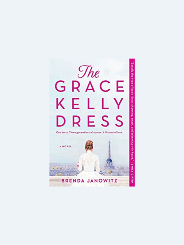 20 Awesome Books for Your Beach Honeymoon  THE GRACE KELLY DRESS by Brenda Janowitz  Beach Reads for Your Honeymoon Getaway | The Budget Savvy Bride