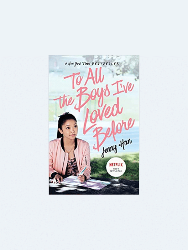 20 Awesome Books for Your Beach Honeymoon  TO ALL THE BOYS I'VE LOVED BEFORE by Jenny Han  Beach Reads for Your Honeymoon Getaway | The Budget Savvy Bride