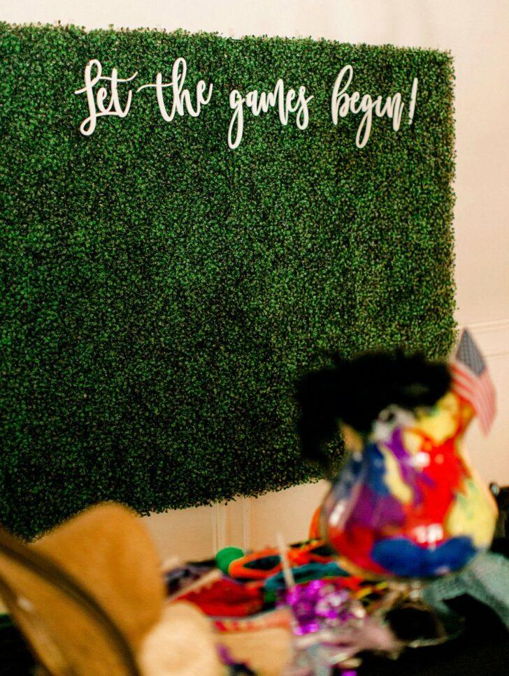 Colorful DIY Micro Wedding