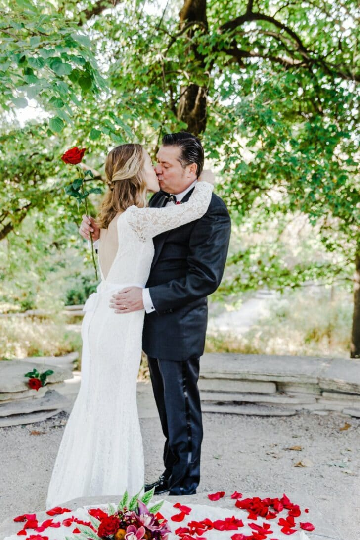 red rose elopement