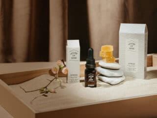 house of wise stress CBD products