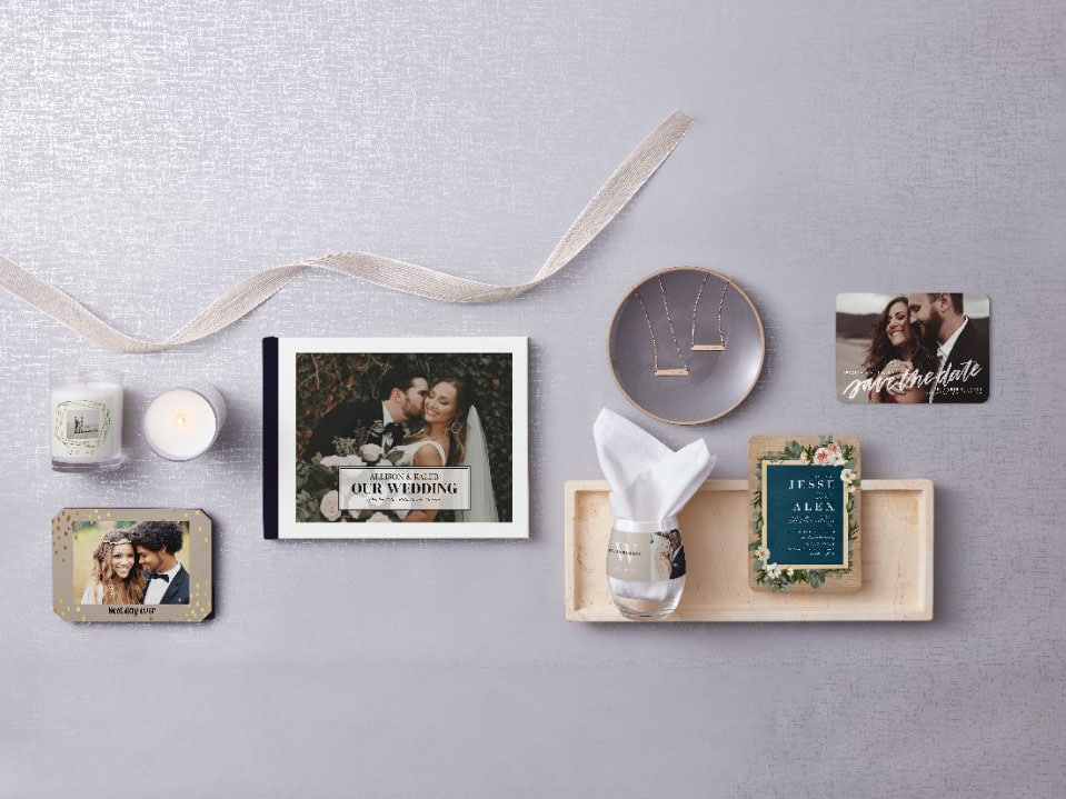 Personalize Your Big Day with Products from Shutterfly Weddings!