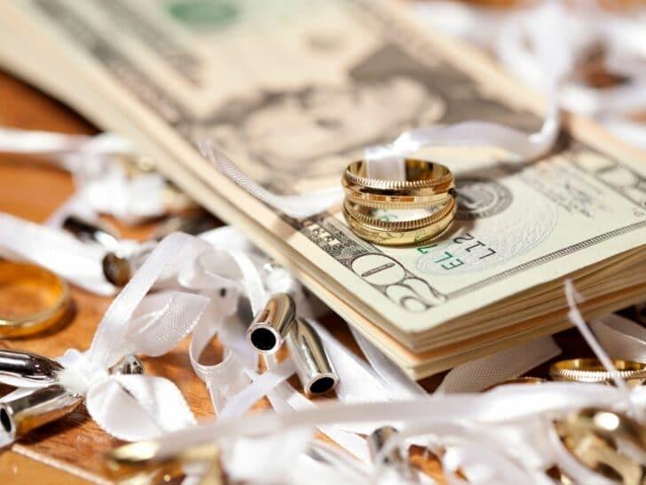 wedding cost wedding budget