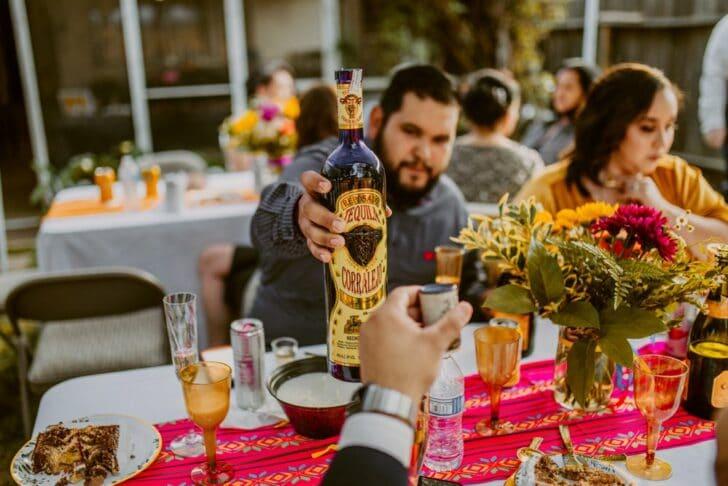 wedding food - mexican wedding