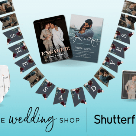 Shutterfly Personalized Wedding Products