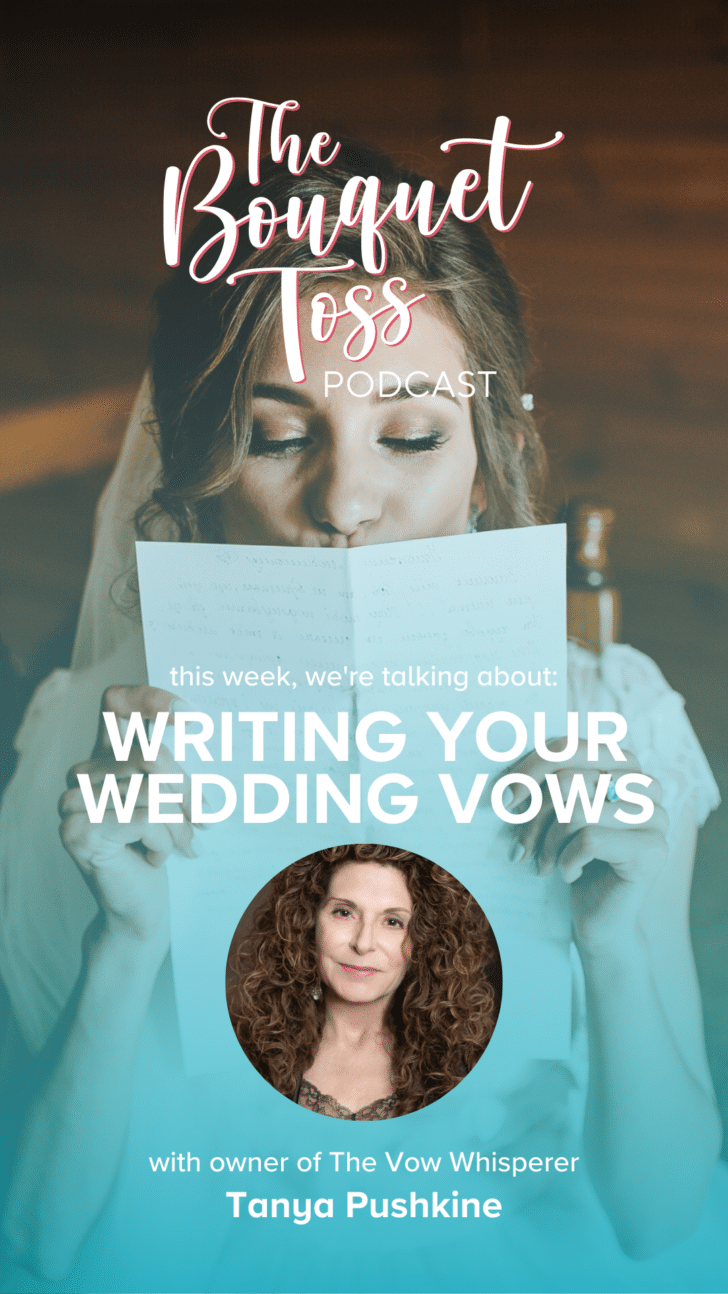 The Bouquet Toss - Personalized Wedding Vows with Tanya Pushkine from The Vow Whisperer