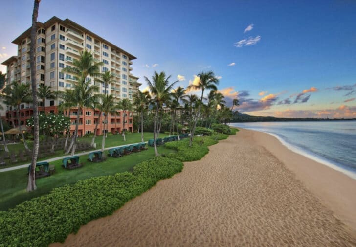 25 popular resorts | popular timeshares for honeymoons  16. Marriott's Maui Ocean Club – Lahaina Villas