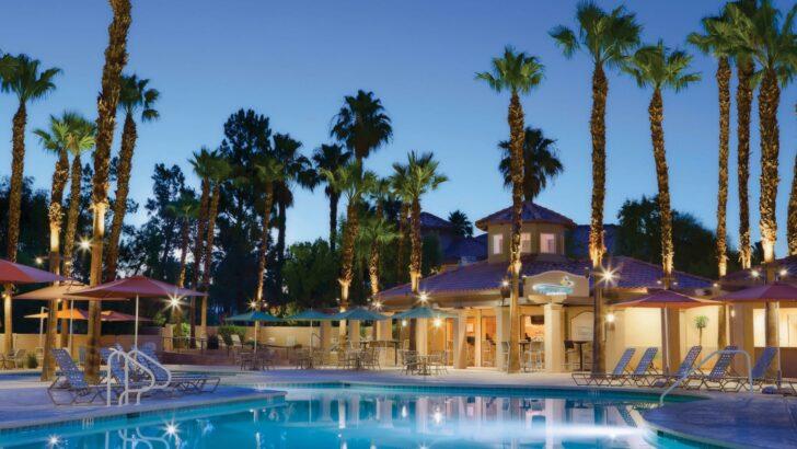 25 popular resorts | popular timeshares for honeymoons  23. Marriott's Desert Spring Villas